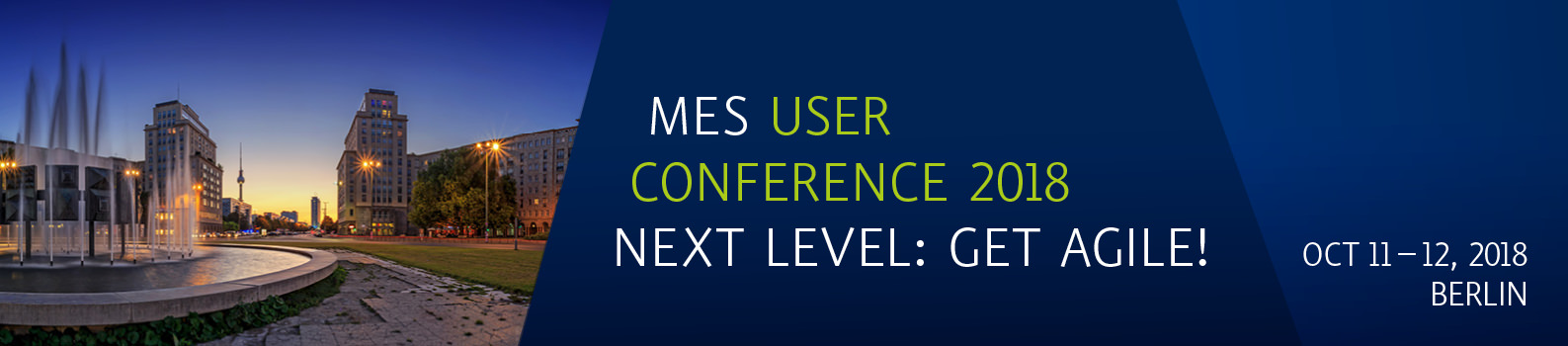 MES User Conference 2018