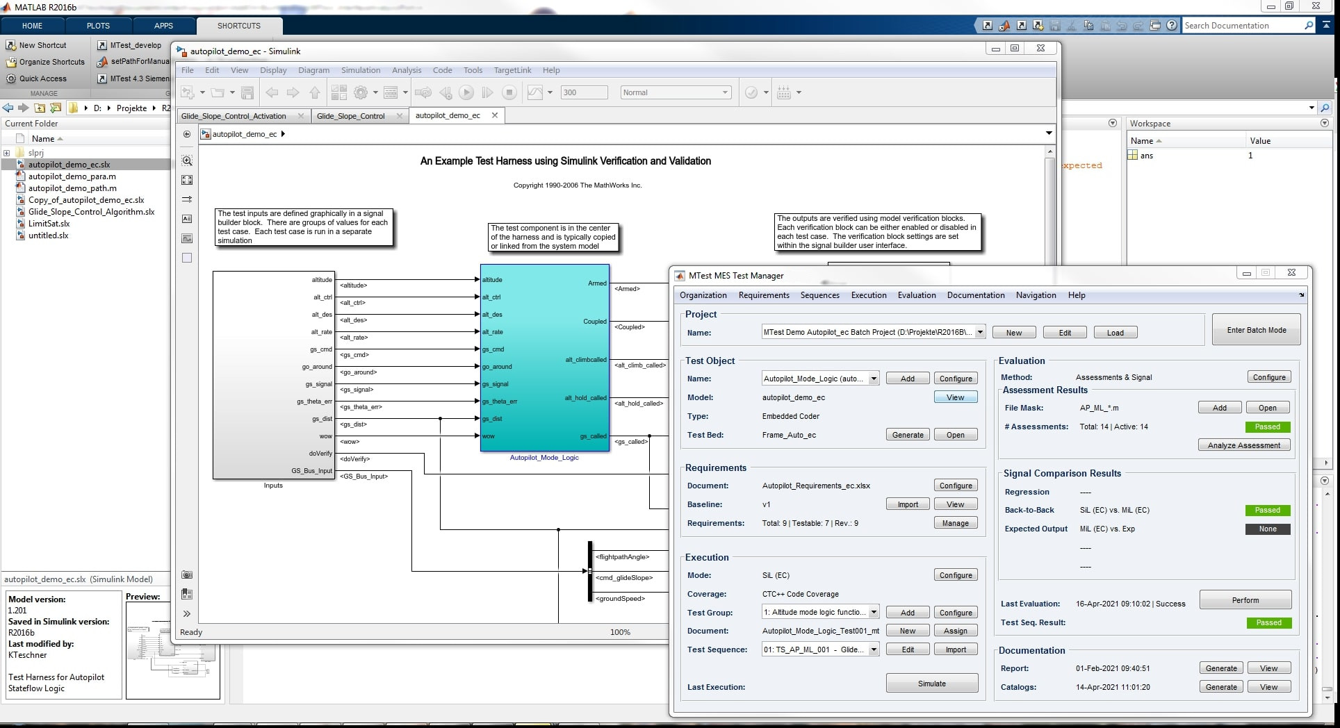 MTest: ISO 26262-compliant Simulink® Testing - MES